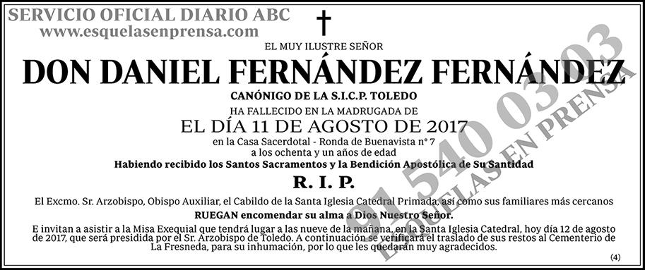 Daniel Fernández Fernández